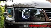 Regeneracja reflektorów lamp przeróbki xenon USA
