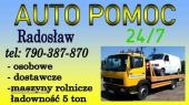 Tania Pomoc Drogowa , BUS 5+1 A1 A2 S8, serwis